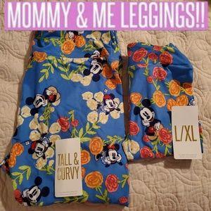 💕NIP MOMMY AND ME SET TC AND KIDS L/XL DISNEY💕